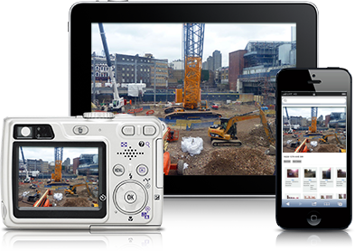 Upload photos to Jobsite from iPad, iPhone, and Android devices